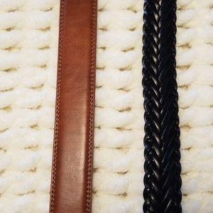 Bosca Accessories - NWT Bosca belt brown black sz 32